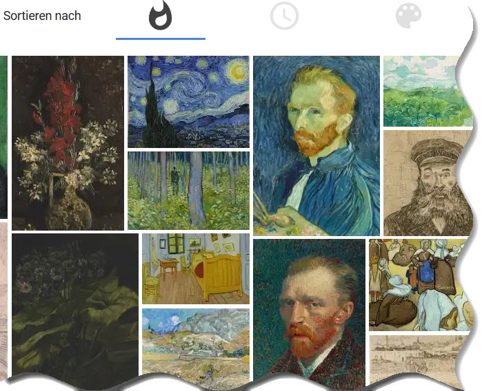 google arts vangogh